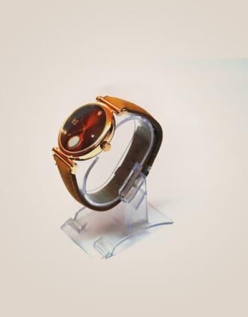 Rolex Chand Men's Watch(Brown)