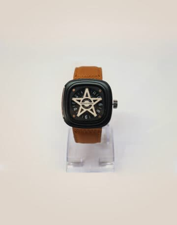 Branded Star Dial Men Watch