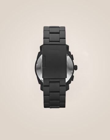 Fossil Mid-Size Chronograph Black